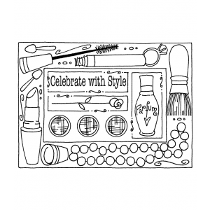 Darby New Cling Mount Stamp: Style Frame RX3-2365