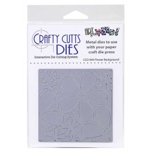 Crafty Cutts Dies - Flower Background Metal Die CCD-044