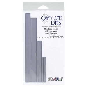 Crafty Cutts Dies - Rectangle Stairs Metal Die CCD-023