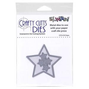 Crafty Cutts Dies - Stars Metal Die CCD-018