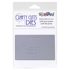 Crafty Cutts Dies - Tiny Stairstep Metal Die CCD-006