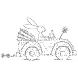 Michelle Masters Cling Mount Stamp - Puttering Around AGC1-2645