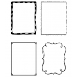 Clear Stamps: View Maker Frames ASMCS-047