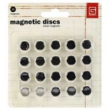 BasicGrey Small Magnetic Discs