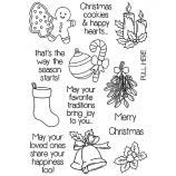 Clear Stamp Set: Favorite Traditions ASMCS-039