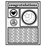 J. Clare Cling Mount Stamp - Baby Cutts Apart AGC2-2486