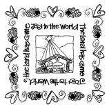 Joanne Sharpe Simple Squares - Joy to The World SC-2461