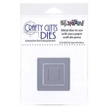 Crafty Cutts Dies - Flip Open Windows Metal Die CCD-008