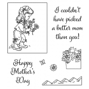 Clear Stamps: Flowers For Mom View Maker ASSCS-043