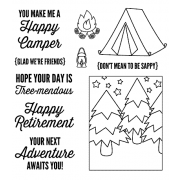 Clear Stamps: Happy Camper View Maker ASSCS-045