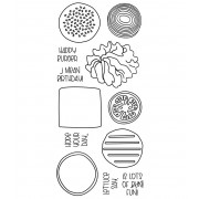Clear Stamp Set: Build-A-Burger ASLCS-051