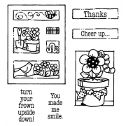 Carolee Jones Clear Stamps: Cheer Up Tiny Cutts SC-2533
