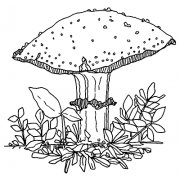 Catherine Scanlon Cling Mount Stamp - Fungus Amongus 3 AGC3-2769