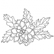 Catherine Scanlon Cling Mount Stamp - Dahlia AGC1-2821