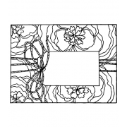 Catherine Scanlon Cling Mount Stamp - Tied Up Pretty AGC3-2850