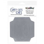 Crafty Cutts Dies, Spinner Wheel Pocket, CCD-067, spinner card metal die