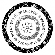 J. Clare Simple Circles: Thank You 3D SC-2430