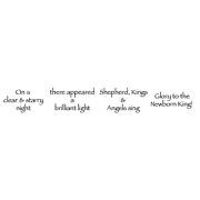 Cling Mount Stamp Set - Newborn King L-1507
