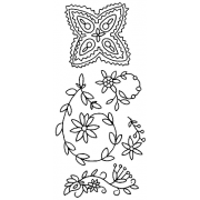 Catherine Scanlon Clear Stamp Set - Annie Paisley LC-2740