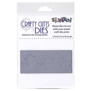 Crafty Cutts Dies - Circles Rectangle Metal Die CCD-035