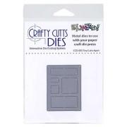 Crafty Cutts Dies - Tiny Cutts Apart Metal Die CCD-003