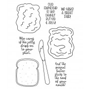 Clear Stamp Set: PB&J Sandwich ASMCS-050