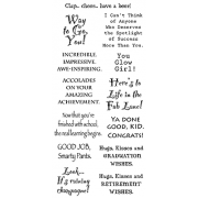 Words to the Rescue Clear Stamps - Graduation / Retirement LFC013