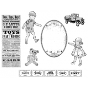 Suzanne Carillo Cling Mount Stamp Sets - Kids & Toys BZ012