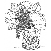 Catherine Scanlon Cling Mount Stamp - Arrangement AGC2-2760