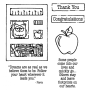 Carolee Jones Clear Stamps: Thank You Tiny Cutts SC-2531