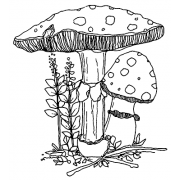 Catherine Scanlon Cling Mount Stamp - Fungus Amongus 2 AGC2-2768