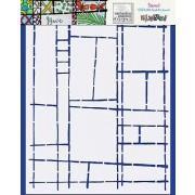 Catherine Scanlon Stencil - Grid Art Journal CSSTL-003