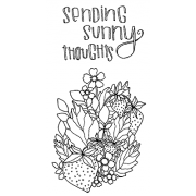 Catherine Scanlon Cling Mount Stamp Set - Sunny Strawberries CSCS-2794