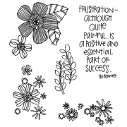 Catherine Scanlon Cling Mount Stamp Set - Whimsical Floral Backgrounds CSCS-2748