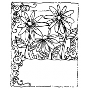 Joanne Sharpe Cling Mount Stamp - Friend Garden Artful Cardmaker AGC2-2554