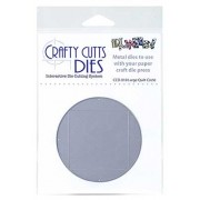 Crafty Cutts Dies - Large Quilt Circle Metal Die CCD-010