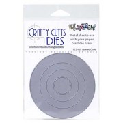 Crafty Cutts Dies - Layered Circle Metal Die CCD-001
