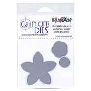Crafty Cutts Dies - Poinsettia Set Metal Die CCD-014