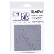 Crafty Cutts Dies - Star Background Metal Die CCD-043