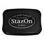 StazOn Ink Pad, Jet Black - SZ31