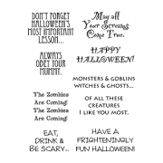 Words to the Rescue Clear Stamps - Halloween SFC018