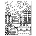 Carolee Jones Cling Mount Stamp - Birthday Scene AGC1-2594