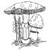 Catherine Scanlon Cling Mount Stamp - Fungus Amongus 2 AGC2-2768