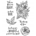 Catherine Scanlon Clear Stamp Set - Floral Hope MC-2838