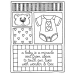 Darby New Cling Mount Stamp - Baby Mini Frame AGC2-1358