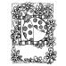 Joanne Sharpe Cling Mount Stamp - Ladybug Artful Cardmaker AGC2-2489