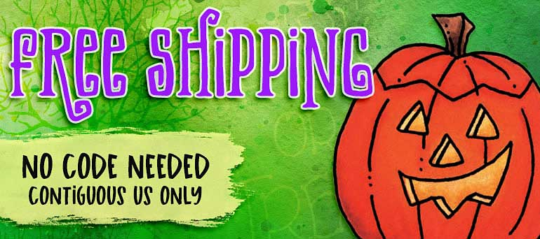 Free shipping at Art Gone Wild!